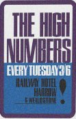 High Numbers Poster