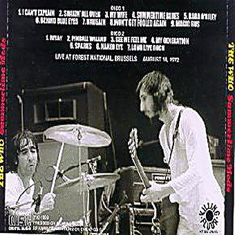 The Who(ザ・フー)/CHICAGO 1971【2CD】 - コレクターズCD, DVD, & others