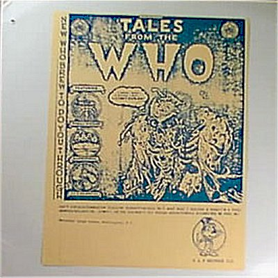 LP - Tales From The Who - Baba O'Riley's Bootleg Page