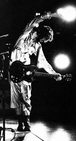 Ca. 1971, with 1961 or 1962 Gibson SG Special, featuring small black pickguard.