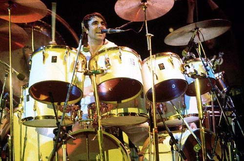 1975 1976 Premier Cream White Kit Keith Moon S Drumkits