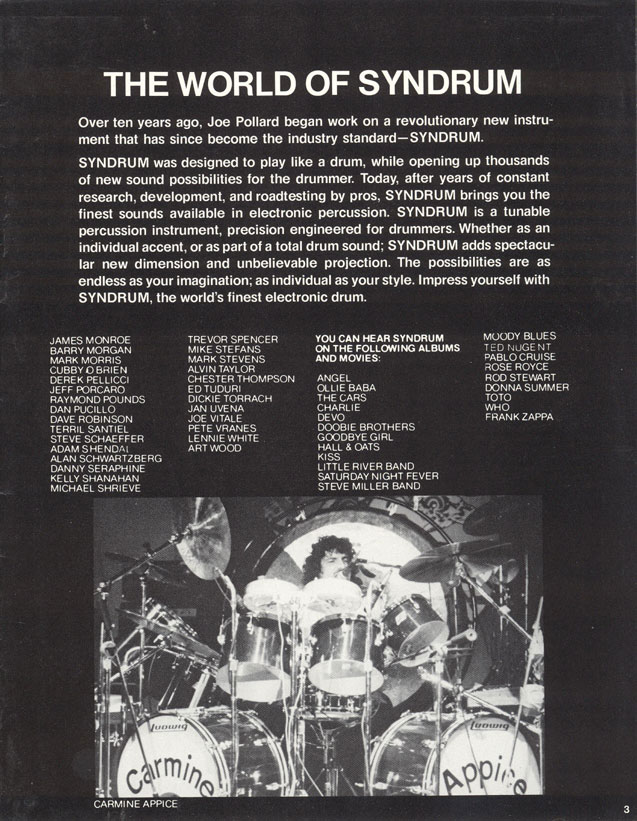 1977–1978 – final Premier kits | Keith Moon's Drumkits | Whotabs