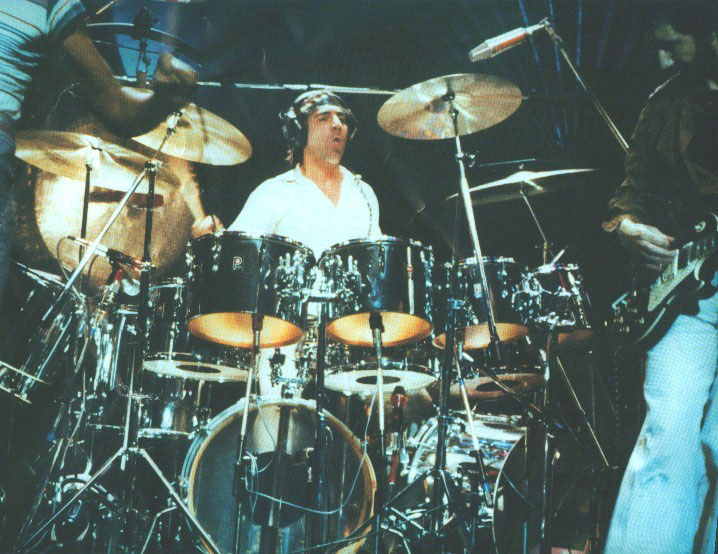 Click to view larger version. 1978 Shepperton. & 1977u20131978 u2013 final Premier kits | Keith Moonu0027s Drumkits | Whotabs