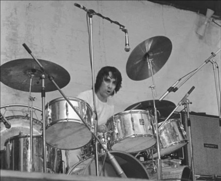1968 1970 Champagne Silver Kit Keith Moon S Drumkits Whotabs