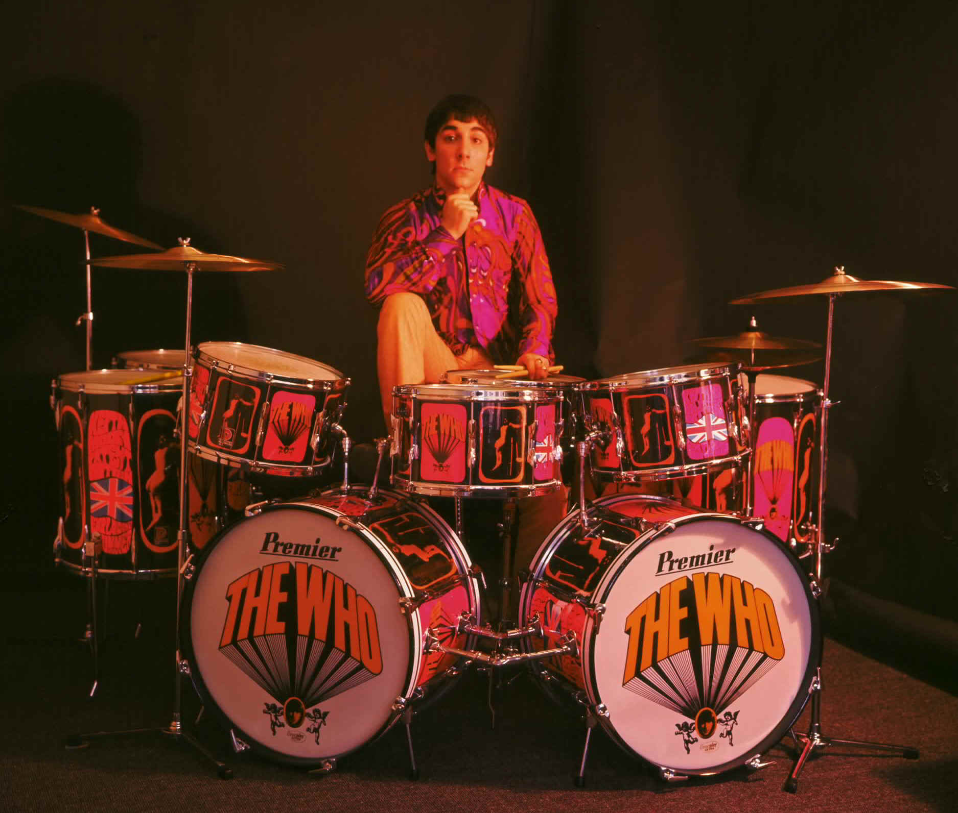 1967 1968 Pictures Of Lily Kit Keith Moon S Drumkits Whotabs