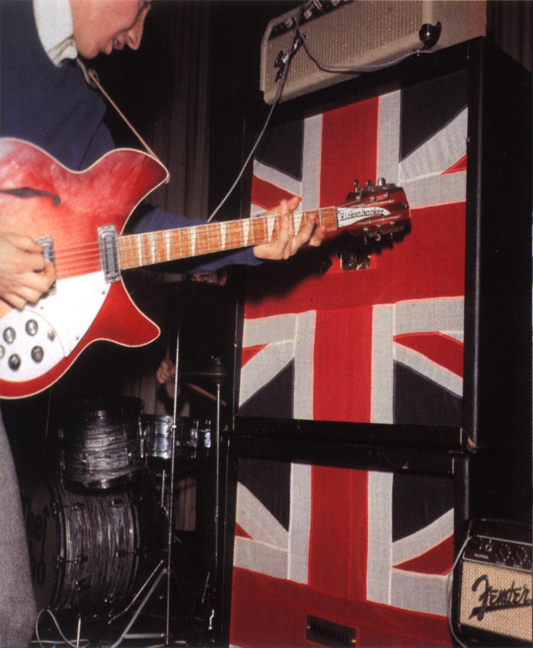 The Marshall 'Stack' | Pete Townshend's Guitar Gear | Whotabs