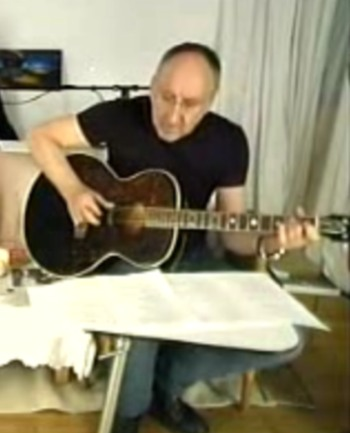 Martin Guitars For Sale >> Miscellaneous Guitars | Pete Townshend's Guitar Gear | Whotabs