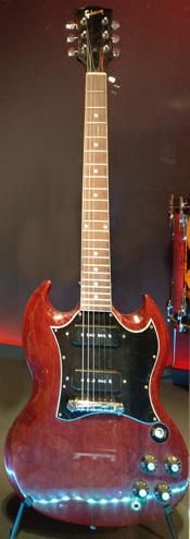 1969 Gibson SG Special serial no. 561569, collection of David Swartz.