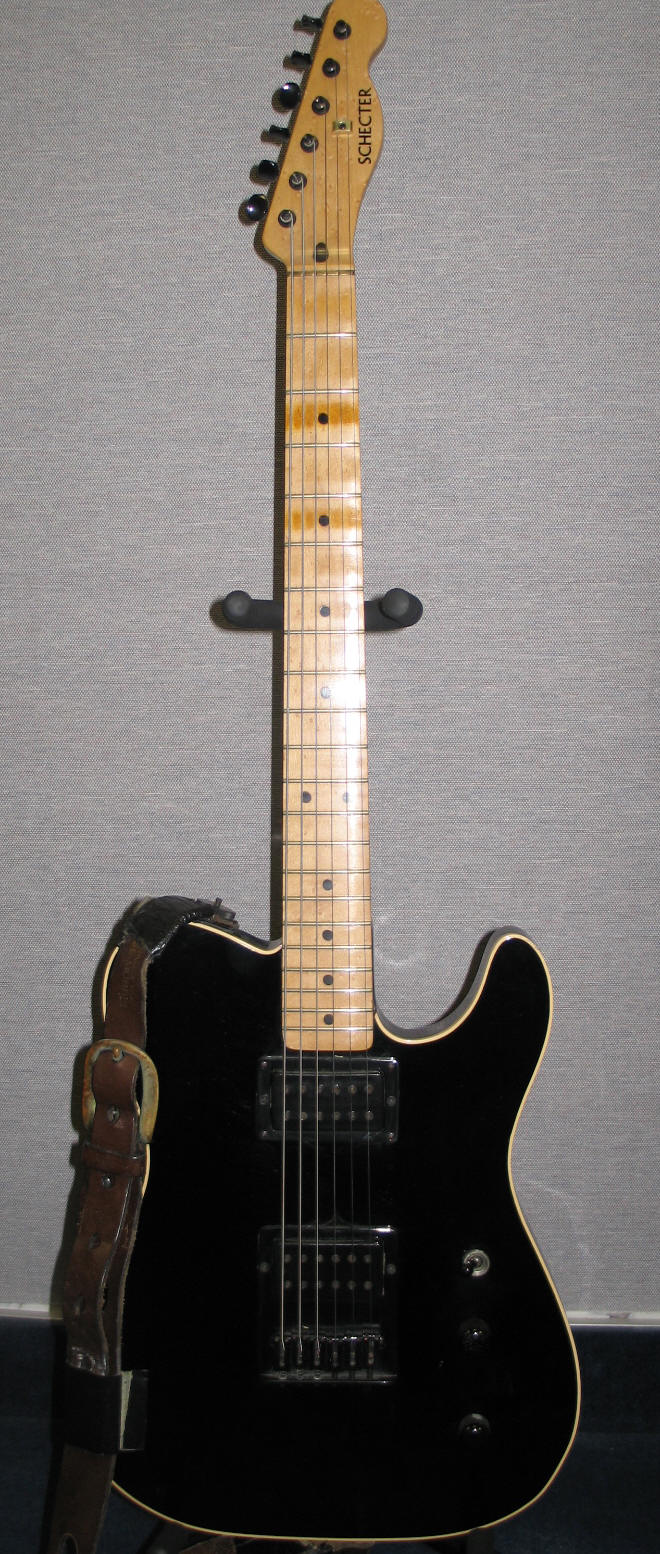 Schecter/Giffin \'Telecaster\'-style Guitars | Pete Townshend\'s Guitar ...