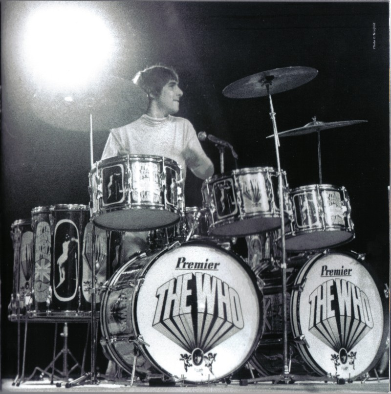Keith Moon Endorsements And Signature Series Keith Moon